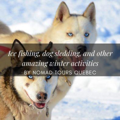 winter activities quebec city