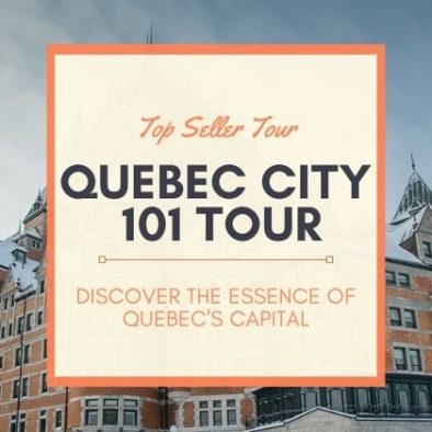 Quebec City 101 tour