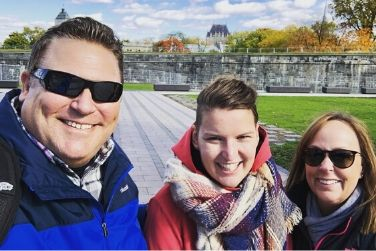 quebec city 101 tour with guests