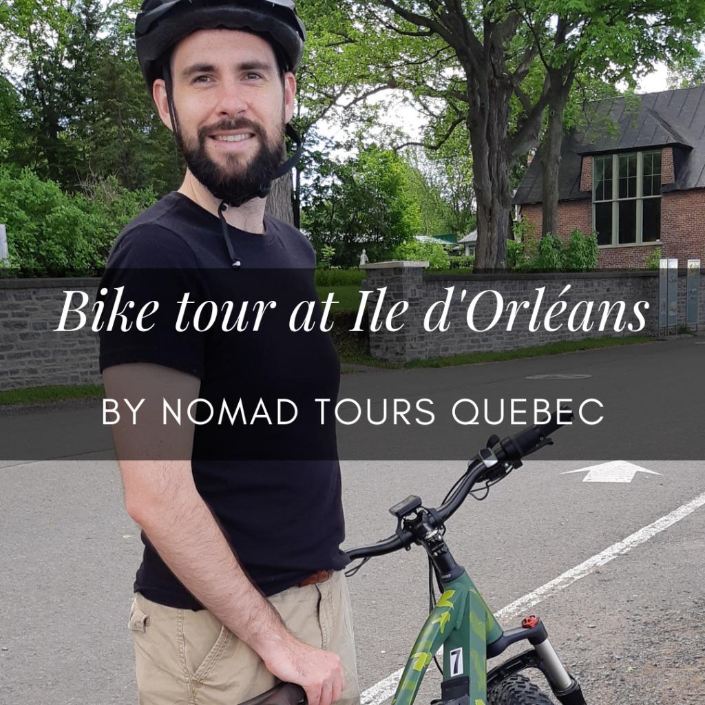 bike tour at orleans island