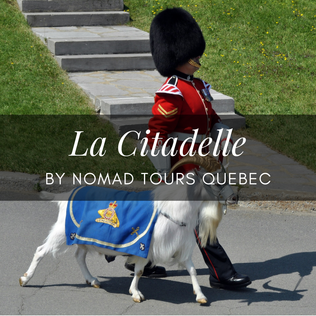 citadelle changing of the gurard quebec city