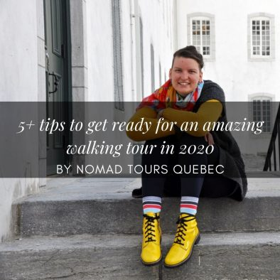 5 tips to get ready for an amazing walking tour in 2020