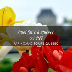 Quoi faire à Québec cet été?