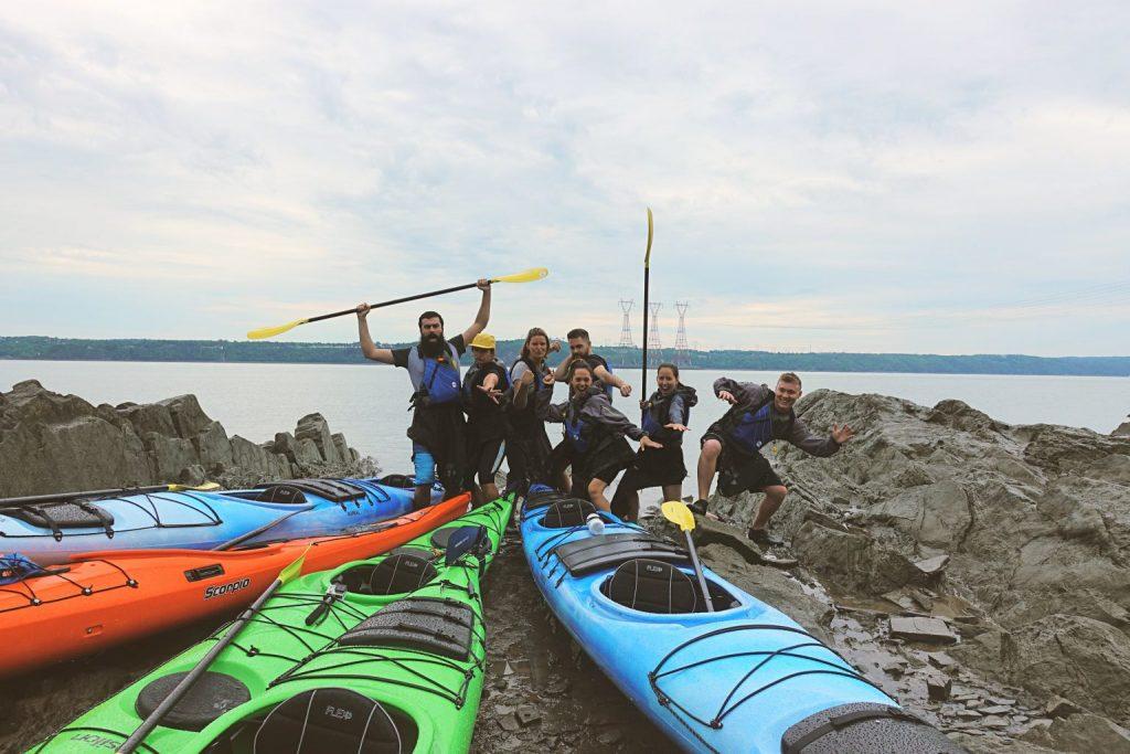 kayak fleuve st-laurent