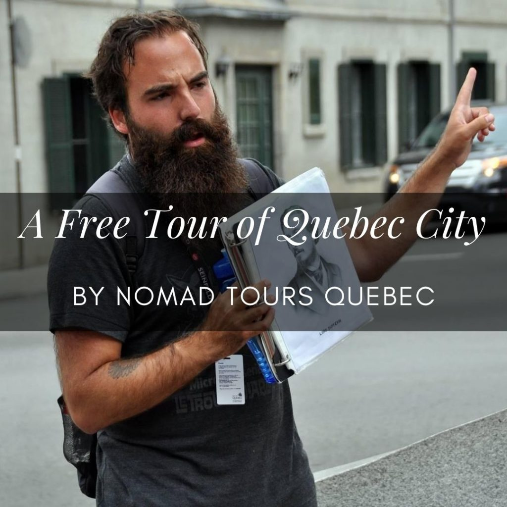 Quebec City free tours: an interview with business owner Sam Dubois